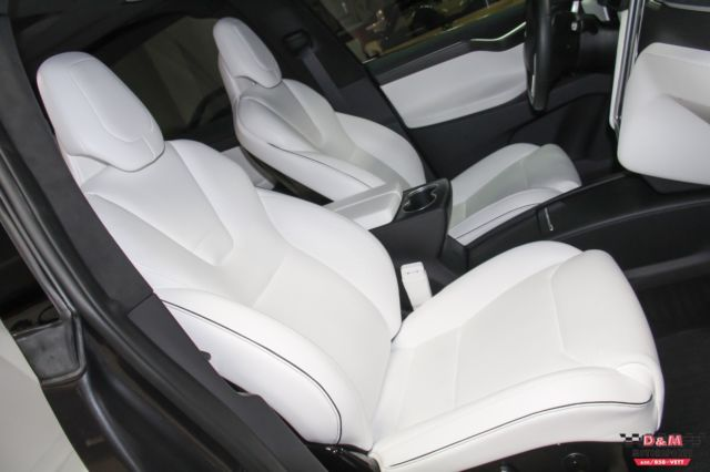 Tesla P90d For Sale >> 5YJXCAE44GF000439 - 2016 Tesla Model X P90D 4521 Miles Midnight Silver Metallic
