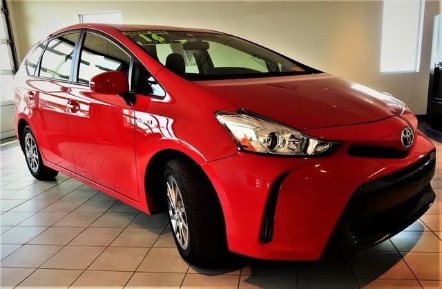 jtdzn3eu7gj049173 2016 toyota prius v three 25397 miles absolutely red 5d wagon 1 8l 4 cylinder do. Black Bedroom Furniture Sets. Home Design Ideas
