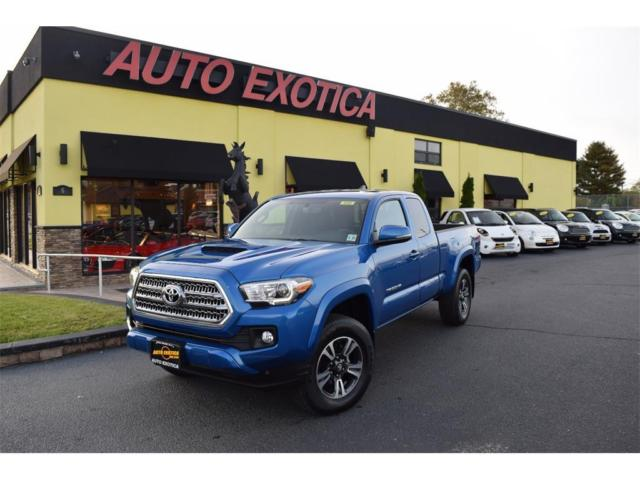 5tfsz5an9gx026460 2016 toyota tacoma trd sport automatic 4 door truck blue. Black Bedroom Furniture Sets. Home Design Ideas