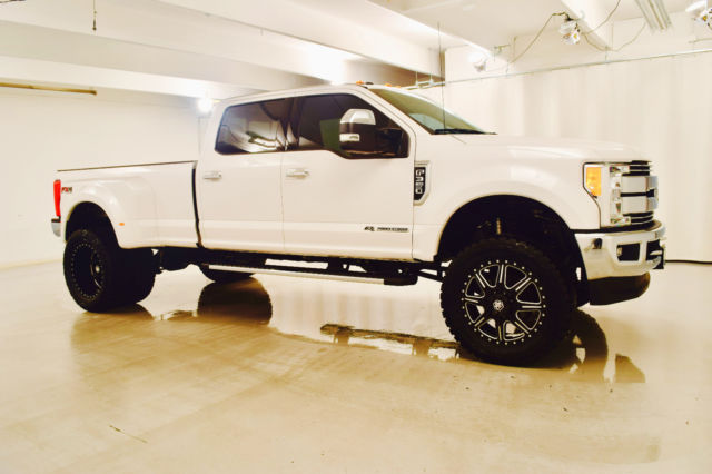 1ft8w3dt3hec01719 2017 f350 lifted powerstroke diesel dually ready to rock