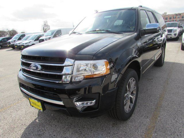 Fmjkhthea  Ford Expedition El King Ranch  Miles Black Sport Utility Twin Turbo Regula