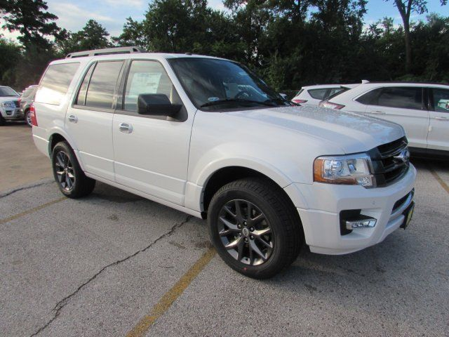 1fmju1kt3hea15950 2017 Ford Expedition Limited 5 Miles White Platinum Metallic Tri Coat Sport Util