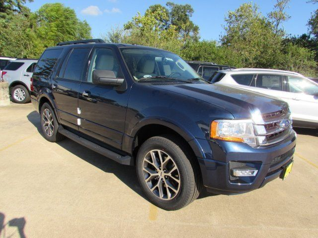 2017 Ford Expedition Xlt 5 Miles Blue Jeans Sport Utility