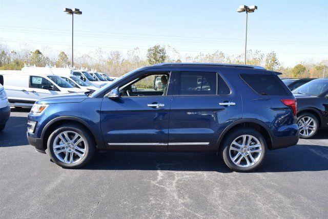 2020 Ford Explorer Limited 0 Blue Jeans Metallic Sport Utility 4 ...