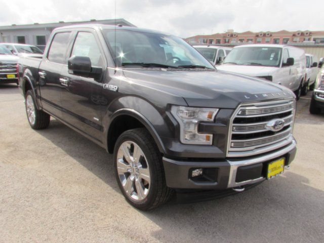 1ftew1eg9hfb89014 2017 Ford F150 Limited 5 Miles Magnetic Crew Cab Pickup Twin Turbo Regular Unlea