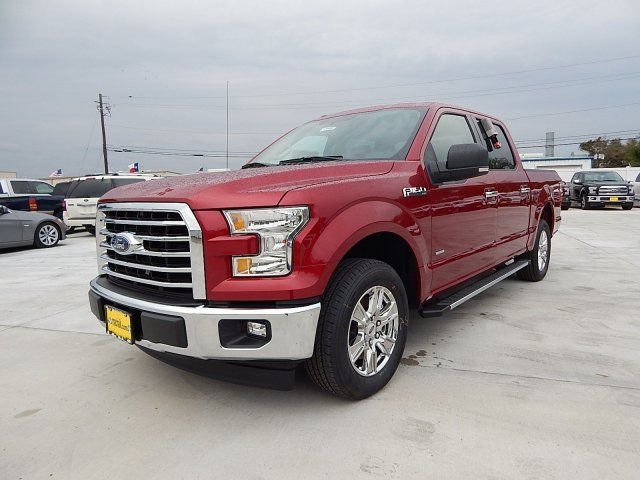 1ftew1cp7hfa33220 2017 ford f150 xlt 120 miles ruby red metallic tinted clearcoat crew cab pickup