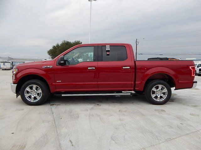 2 7 L Ecoboost V6 >> 1FTEW1CP7HFA33220 - 2017 Ford F150 XLT 120 Miles Ruby Red Metallic Tinted Clearcoat Crew Cab Pickup