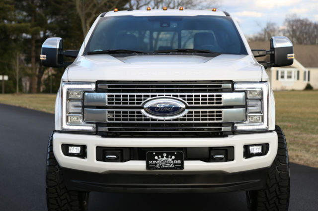 1ft7w2btxheb62913 2017 ford f250 crew platinum 6 7l diesel 6k miles lifted 4x4 amazing no reserve. Black Bedroom Furniture Sets. Home Design Ideas