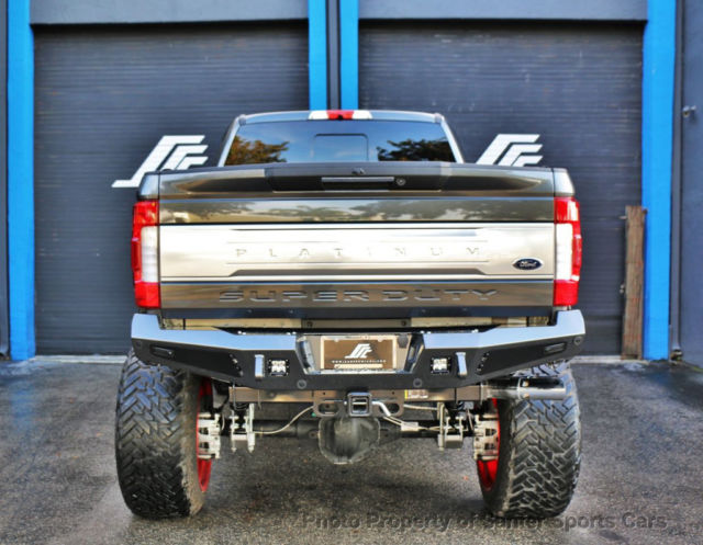 2017 Ford F250 Sd Platinum 4wd Crew Cab 14 Quot Lift Show Truck Financing Available 1ft7w2bt1heb45207