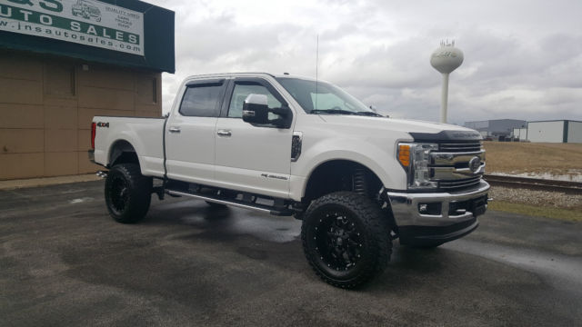 Ford F350 6 Door >> 1FT8W3BTXHEB81844 - 2017 FORD F350 LARIAT 4X4 CCSB 6.7 POWERSTROKE DIESEL LIFTED PANO ROOF 2K MILES