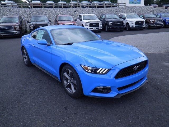 1fa6p8th1h5224338 2017 Ford Mustang Ecoboost 20 Miles Grabber Blue