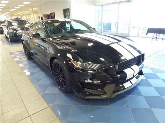 fapjzh  ford mustang shelby gt  miles black white stripes