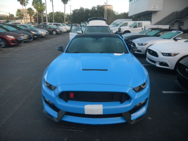 2017 Mustang Shelby Gt350 Black >> 1FATP8JZ0H5522300 - 2017 FORD MUSTANG SHELBY GT350R GRABBER BLUE BLACK ROOF READY FOR DELIVERY