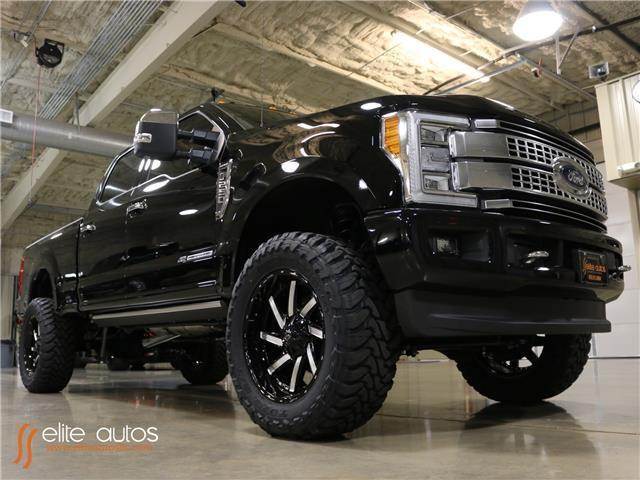 2017 Ford Super Duty F-250 Platinum Ultimate 4 inch lift 22 inch ...