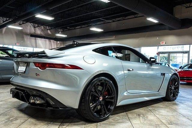 sajwj6j84hmk39829 2017 jaguar f type svr awd coupe msrp 4k red leather carbon fiber loaded. Black Bedroom Furniture Sets. Home Design Ideas