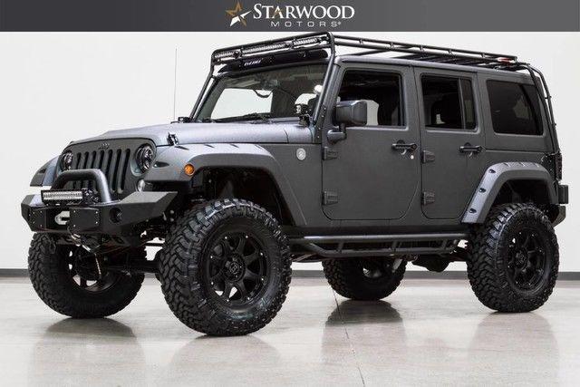 Jeeps For Sale In Dallas >> 1C4HJWDG9HL533730 - 2017 Jeep Wrangler Unlimited Custom ...