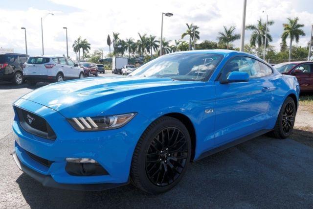 1FA6P8CF9H5228328 - 2017 Mustang GT Grabber Blue