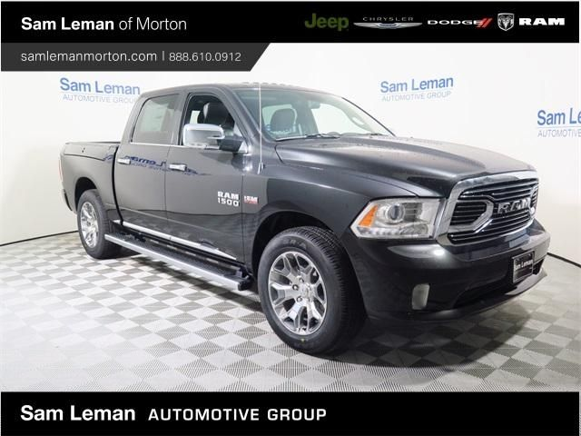 Sam Leman Morton Illinois >> 1C6RR7PT0HS612146 - 2017 Ram 1500 Longhorn 4x4 Crew Cab black limited