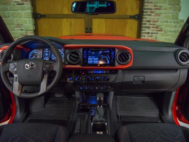 3TMCZ5AN2HM060722 - 2017 Toyota Tacoma TRD Sport, Custom, wheels & tires, lift, TRD pro grill.