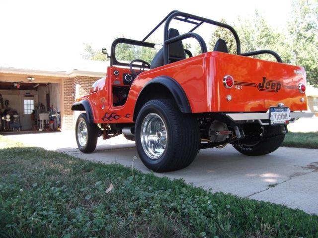 J3f835th06010 401 Hot Rod Jeep Amc Street Rod Plus New