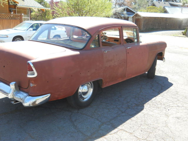 55 Chevy Belair 4 Door Sedan