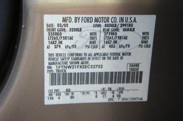 Ftnwfxec  Speed Manual Transmission  L Powerstroke Turbo Sel Xlt Wd Garage Kept