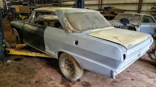 62 Chevy Nova 2 Door Hardtop Great Project Car Lots New Parts