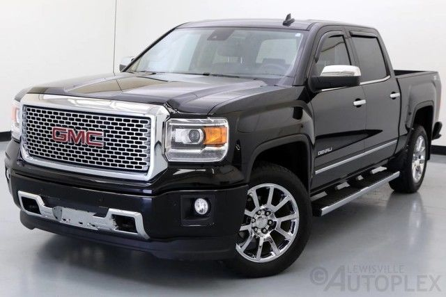 3gtu2wec6fg126336 black used 2015 gmc sierra denali 1500 5 3l v8 4x4. Black Bedroom Furniture Sets. Home Design Ideas