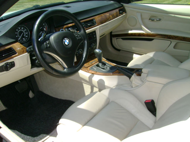 wbawl73538px52115 bmw 335i 2008 hardtop convertible white with tan interior super nice car. Black Bedroom Furniture Sets. Home Design Ideas