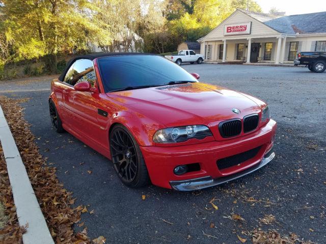 wbsbr93411ex20423 - BMW E46 M3 Imola Red Rare Air ...