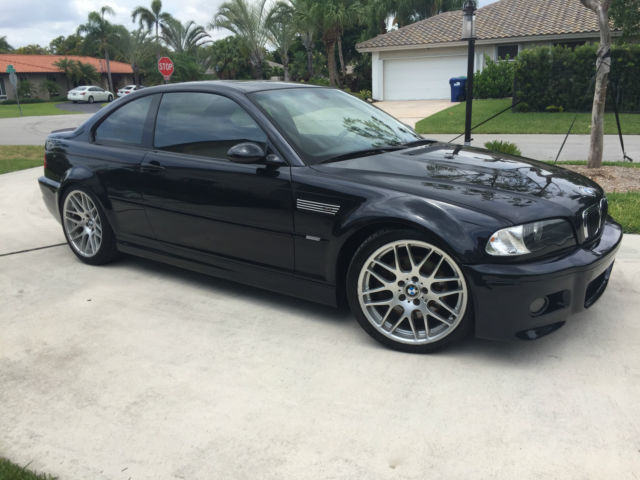 Wbsbl93444pn55798 Bmw M3 E46 Carbon Black Cinnamon Csl Wheels 1