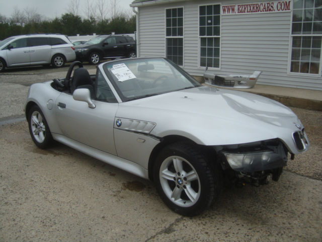 4usch9346ylg03423 Bmw Z3 Convertible Salvage Rebuildable