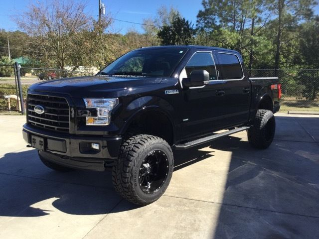 Ftewepgfd Brand New  Ford F Fx Ecoboost Over  In Custom Fuelwheels Lift