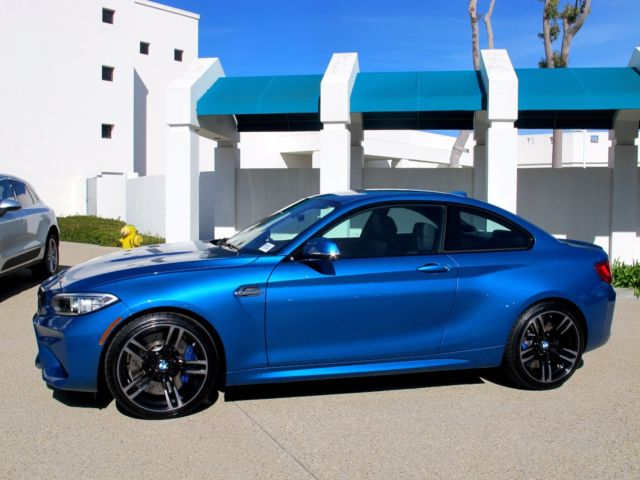 Wbs1h9c31hv887624 Brand New Bmw M2 Long Beach Blue