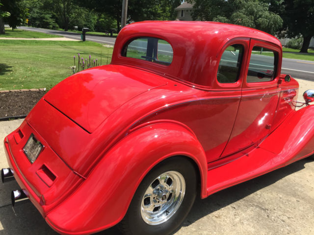 35600 chevy 1934 5 window steel cab coupe