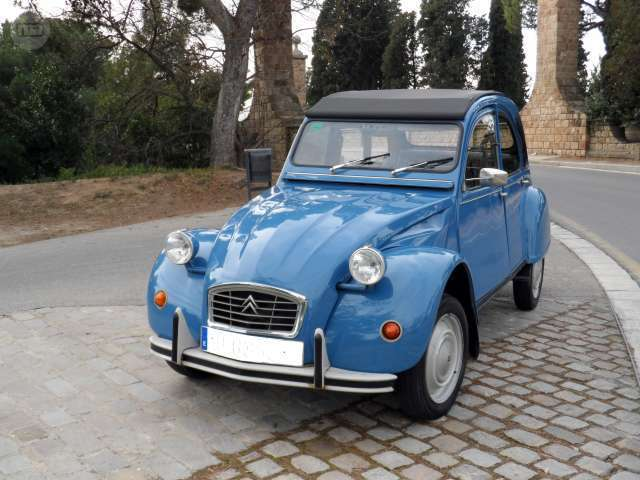 17kb2619 citroen 2cv convertible relisted for non payment. Black Bedroom Furniture Sets. Home Design Ideas
