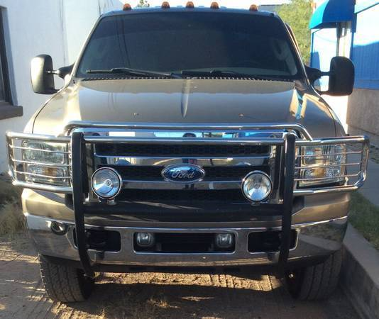 Purchase Used 2008 Crew Cab Diesel 2 Wheel Drive: Custom 2006 F350 Diesel Lariat