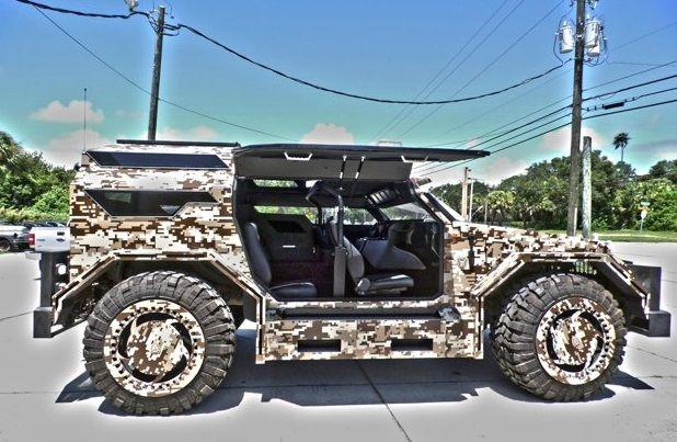 137za9034ye186873 Custom Hummer H1