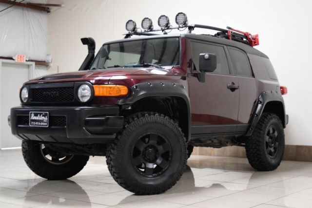Jtebu11f170100538 Custom Toyota Fj Cruiser 4wd Lifted