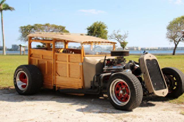 181476300 custom woody hot rod