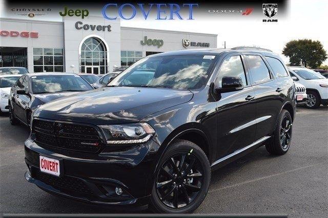 1c4sdhct9hc675342 D03017 New Dodge Durango R T Black Suv