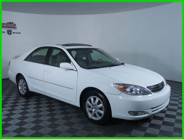 easy financing 156254 miles used white 2003 toyota camry xle fwd 3l v6 24v 4t1bf32k53u052496 used cars for sale from usa