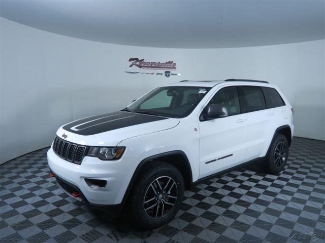 1c4rjflg9hc605323 easy financing new white 2017 jeep grand cherokee trailhawk suv 4wd 3 6l v6 24v. Black Bedroom Furniture Sets. Home Design Ideas