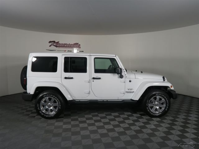 1c4bjweg8hl516518 easy financing new white 2017 jeep wrangler unlimited sahara suv 4wd leather. Black Bedroom Furniture Sets. Home Design Ideas
