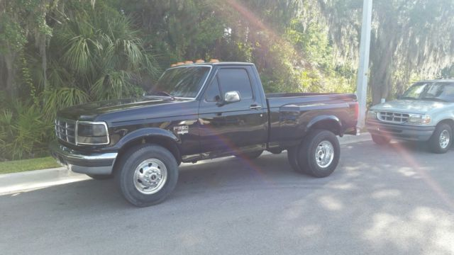 1fthf25f9vea19621 F250 Single Cab Short Bed Dually 7 3