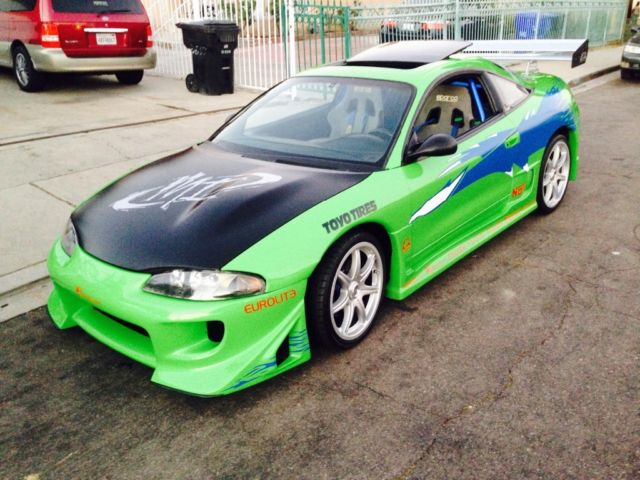 4a3ak44y4te249573 fast and furious eclipse paul walker tribute car. Black Bedroom Furniture Sets. Home Design Ideas