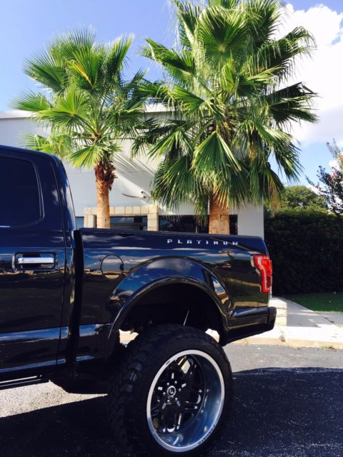 1ftew1cg9ffa76518 Ford F150 Platinum Custom 10 Inch Lift