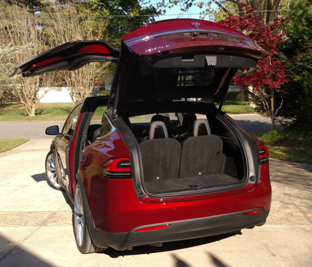 2016 Tesla Model S Suspension: 5YJXCAE4XGFF00074