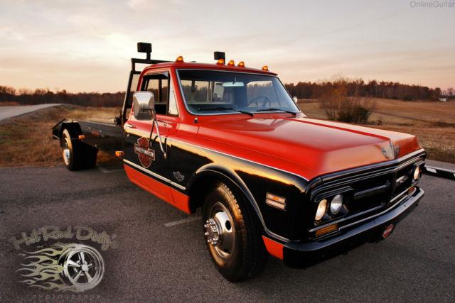 Gmc C30 Tow Truck Car Hauler Wedge Ramp Truck Pickup C10 3100 Hot