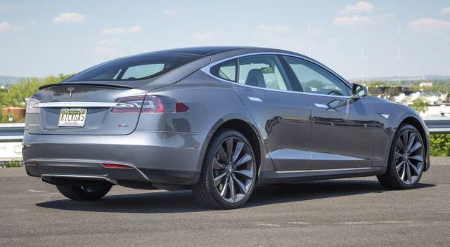 5yjsa1dp1dfp17808 Grey Tesla Model S Performance 85